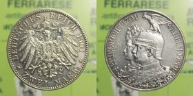 Germania - 2 Marchi 1901 - Ag