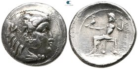 Eastern Europe. Imitation of Philip III of Macedon circa 300-200 BC. Tetradrachm AR