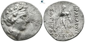 Islands off Thrace. Thasos circa 90-75 BC. Tetradrachm AR