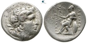 Kings of Thrace. Magnesia on the Maeander. Macedonian. Lysimachos 305-281 BC. Tetradrachm AR