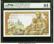 France Banque de France 1000 Francs 29.4.1943 Pick 102 PMG Choice Uncirculated 64 EPQ.   HID09801242017