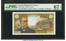 France Banque de France 5 Francs 7.7.1966 Pick 146a PMG Superb Gem Unc 67 EPQ.   HID09801242017
