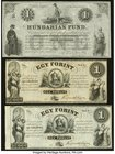 Hungary Finance Ministry, Philadelphia and Hungarian Fund, New York Group Lot of 7 Examples Crisp Uncirculated.   HID09801242017