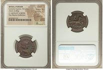 MYSIA. Parium. Cornelia Supera (AD 253). AE (22mm, 4.89 gm, 6h). NGC Choice Fine 4/5 - 2/5, scratches. G CORN-SVPERA-AVG, diademed, draped bust of Cor...