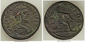 PISIDIA. Etenna. Septimius Severus (193-211). AE (33mm, 17.13 gm, 6h). Choice VF. AV K Λ CЄΠ CЄOV-HPOC ΠЄPTI, laureate, draped and cuirassed bust of S...