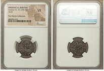 PHOENICIA. Berytus. Gordian III (AD 238-244). AE (20mm, 12h). NGC VF. IMP GORDIANVS AVG COS, radiate, draped and cuirassed bust of Gordian III right, ...