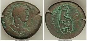 EGYPT. Alexandria. Hadrian (AD 117-138). AE drachm (36mm, 27.34 gm, 12h). About VF. Dated Regnal Year 19 (AD 134/5). Laureate, draped and cuirassed bu...