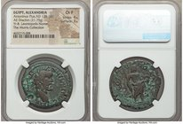 EGYPT. Alexandria. Leontopolis Nome. Antoninus Pius (AD 138-161). AE drachm (34mm, 21.75 gm, 12h). NGC Choice Fine 4/5 - 3/5. Dated Regnal Year 8 (144...
