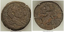 EGYPT. Alexandria. Marcus Aurelius, as Augustus (AD 161-180). AE drachm (34mm, 22.43 gm, 12h). About VF. Dated Regnal Year 4 (AD 163/4). Μ ΑVΡΗΛΙΟС-ΑΝ...