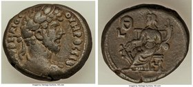 EGYPT. Alexandria. Lucius Verus (AD 161-169). BI tetradrachm (24mm, 13.28 gm, 12h). About VF. Dated Regnal Year 9 (AD 168/9). Λ ΑVΡΗΛΙΟС-ΟVΗΡΟС СE, la...