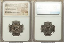 EGYPT. Alexandria. Caracalla, as Caesar (AD 198-217). BI tetradrachm (23mm, 12.87 gm, 12h). NGC Choice VF 4/5 - 4/5. Dated Regnal Year 6 (AD 197/8). M...