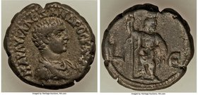 EGYPT. Alexandria. Severus Alexander, as Caesar (AD 221-222) BI tetradrachm (23mm, 12.21 gm, 12h). VF. Dated Regnal Year 5 of Elagabalus (AD 222). MAP...