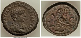EGYPT. Alexandria. Severus Alexander, as Caesar (AD 221-222) BI tetradrachm (23mm, 13.50 gm, 12h). VF. Dated Regnal Year 5 (AD 225/6). MAP AYP AΛEΞANΔ...