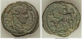 EGYPT. Alexandria. Severus Alexander, as Augustus (AD 222-235). AE drachm (33mm, 15.57 gm, 1h). VF. Dated Regnal Year 10 (AD 230/1). A KAI MAP AVP CEV...