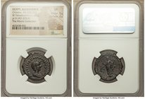 EGYPT. Alexandria. Orbiana (AD 225-227). BI tetradrachm (25mm, 11.81 gm, 12h). NGC VF 5/5 - 2/5. Dated Regnal Year 5 of Severus Alexander (AD 225/6). ...