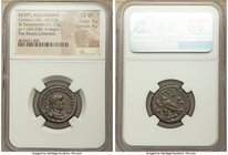 EGYPT. Alexandria. Gordian I Africanus (AD 238). BI tetradrachm (22mm, 11.21 gm, 11h). NGC Choice VF 5/5 - 4/5. Dated Regnal Year 1 (AD 238). A K M AN...