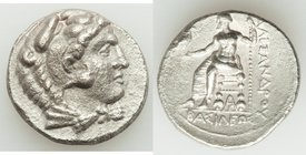MACEDONIAN KINGDOM. Alexander III the Great (336-323 BC). AR tetradrachm (25mm, 16.70 gm, 6h). XF, roughness. Late lifetime or early posthumous issue ...