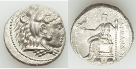 MACEDONIAN KINGDOM. Alexander III the Great (336-323 BC). AR tetradrachm (25mm, 16.81 gm, 11h). XF. Uncertain Phoenician or Syrian mint, 323-317 BC. H...