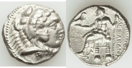 MACEDONIAN KINGDOM. Alexander III the Great (336-323 BC). AR tetradrachm (25mm, 16.69 gm, 8h). VF. Uncertain Phoenician or Syrian mint, ca. 323-317 BC...