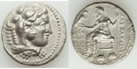 MACEDONIAN KINGDOM. Alexander III the Great (336-323 BC). AR tetradrachm (25mm, 16.44 gm, 11h). XF. Lifetime or early posthumous issue of Tyre, by Lao...