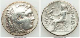 THRACE. Mesambria. Ca. 175-125 BC. AR tetradrachm (30mm, 16.18 gm, 12h). Fine. In the name and types of Alexander III the Great of Macedon. Head of He...