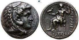 Kings of Macedon. Uncertain mint in Cilicia. Philip III Arrhidaeus 323-317 BC. In the name and types of Alexander III. Tetradrachm AR