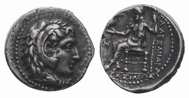 Alexander III the Great (336-323 BC). AR hemidrachm