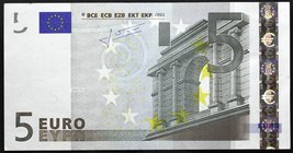 European Union 5 Euro 2002