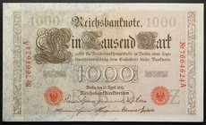 Germany 1000 Mark 1910