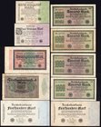 Germany - Weimar Republic Lot of 10 Banknotes