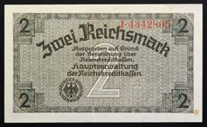 Germany Occupied Territory 2 Reichsmark 1940 - 45