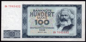 Germany 100 Mark 1964 DDR - Berlin