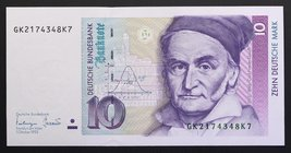 Germany 10 Mark 1993
