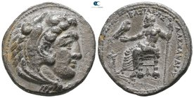 Kings of Macedon. Tarsos. Philip III Arrhidaeus 323-317 BC. In the name and types of Alexander III. Struck under Philotas or Philoxenos. Tetradrachm A...