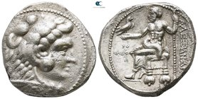 Kings of Macedon. Tyre. Philip III Arrhidaeus 323-317 BC. In the name and types of Alexander III. Struck under Laomedon. Dated RY 29 of Azemilkos (321...