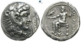 "Kings of Macedon. Sidon. Alexander III ""the Great"" 336-323 BC. Undated issue, struck under Menon or Menes, circa 332-323 BC. Tetradrachm AR"