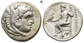 "Kings of Macedon. Uncertain mint or Magnesia. Alexander III ""the Great"" 336-323 BC. Drachm AR"