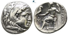 Ionia. Miletos  circa 295-275 BC. In the name and types of Alexander III of Macedon. Drachm AR