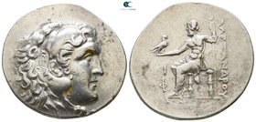 Lycia. Phaselis 221-188 BC. In the name and types of Alexander III of Macedon. Dated CY 10 =209/8 BC. Tetradrachm AR