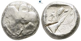 Cyprus. Uncertain mint circa 500-480 BC. Siglos - Stater AR
