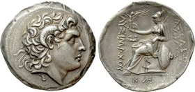 KINGS OF THRACE (Macedonian). Lysimachos (305-281 BC). Tetradrachm. Perinthos.