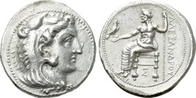 KINGS OF MACEDON. Alexander III 'the Great' (336-323 BC). Tetradrachm. Sidon. Lifetime issue.