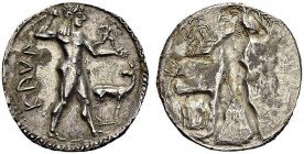 GREECE. Bruttium. 