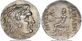 THRACE. Odessus. Ca. 125-70 BC. AR tetradrachm (30mm, 16.54 gm, 11h). NGC Choice AU 5/5 - 4/5. Time of Mithradates VI Eupator, in the name and types o...
