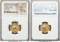 BOSPORAN KINGDOM. Cotys II (AD 123/4-132/3) with Hadrian (AD 117-138). EL stater (20mm, 7.76 gm, 2h). NGC Choice VF 3/5 - 4/5, edge scuff. Dated Bospo...