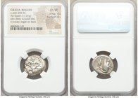 CILICIA. Mallus. Ca. 440-385 BC. AR stater (20mm, 11.01 gm, 9h). NGC Choice VF 4/5 - 4/5. Beardless male, winged, in kneeling/running stance left, hol...