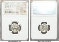 CILICIA. Tarsus. Ca. late 5th century BC. AR stater (19mm, 10.79 gm, 12h). NGC Choice XF 4/5 - 3/5. Satrap on horseback riding left, reins in left han...