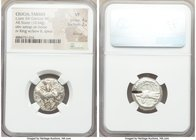 CILICIA. Tarsus. Ca. late 5th century BC. AR stater (19mm, 10.64 gm, 9h). NGC VF 4/5 - 2/5, test cut. Satrap on horseback riding left, reins in left h...