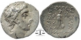 Ariobarzanes III Kings of Cappadocia, Eusebeia AR Drachm. 52-42 BC