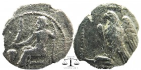 Cilicia, uncertain mint. AR Obol. 4th C.